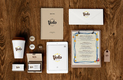 yolo cafe品牌規劃包裝設計