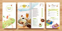 梨子菜單設計