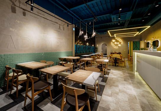 亞丁尼永春東路店-商業空間設計-室內設計-空間設計-餐飲空間-舞夏設計 (8).