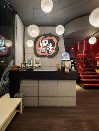 舞夏設計-田季發爺綠園道店-台中室內設計-商業空間設計-商空設計-台中空間設計-
