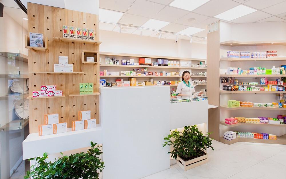 台中藥局設計-醫療空間設計