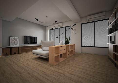 客廳及書房