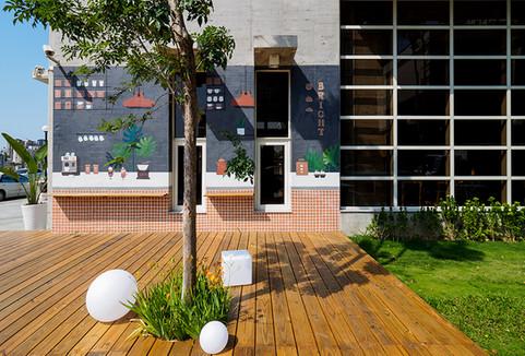 天亮了-咖啡餐飲館-舞夏設計-台中北屯區茶飲店-商業空間-品牌整合設計 (2).