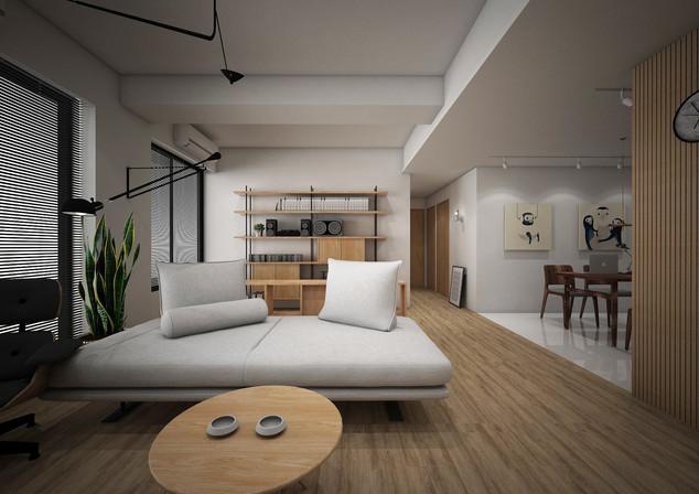 開放式客廳