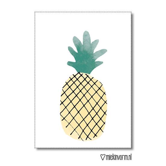 Mini-kaart - ananas
