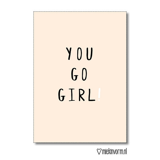 Kaart - you go girl