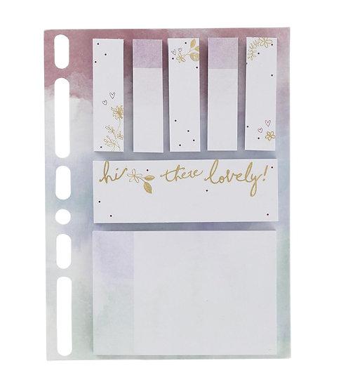Sticky notes - hi there lovely