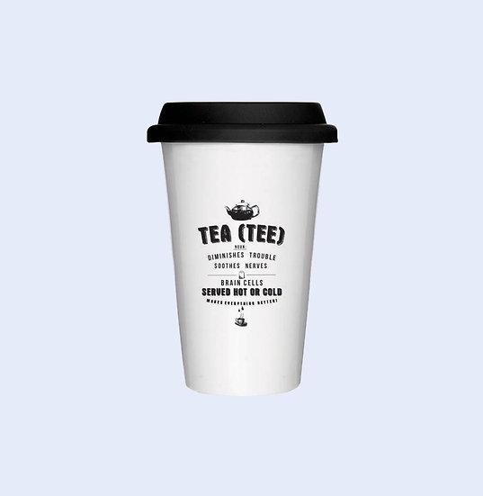 Take away mug - tea