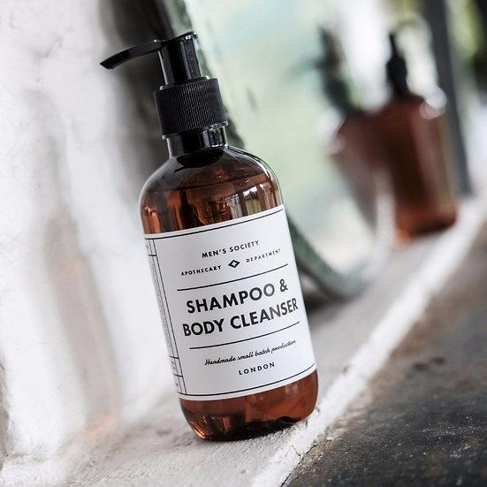 Shampoo &body cleanser voor mannen
