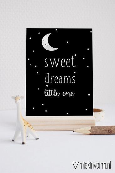 Kaart - sweet dreams little one
