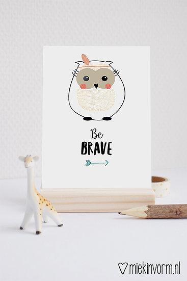 Kaart - be brave