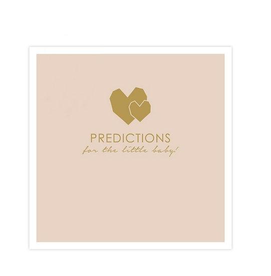 Baby voorspellingskaartjes