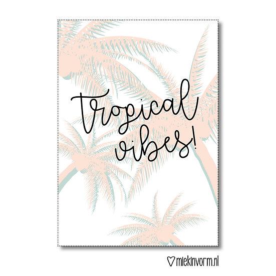 Kaart - tropical vibes