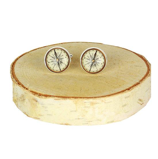 Manchetknopen - kompas