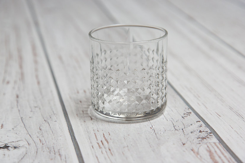 1 glas - voor whiskey of cocktail