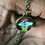 Thumbnail: 7 Chakras Double Sided Glass Crystal Ball Neckless- Unisex
