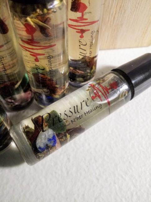 Pressure Essential Oil Roller- 10ml (Blood Pressure & Hypertension)