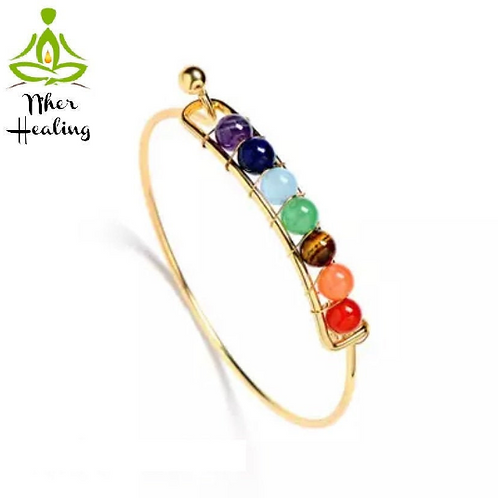 7 Chakras Healing Bracelet/Bangle