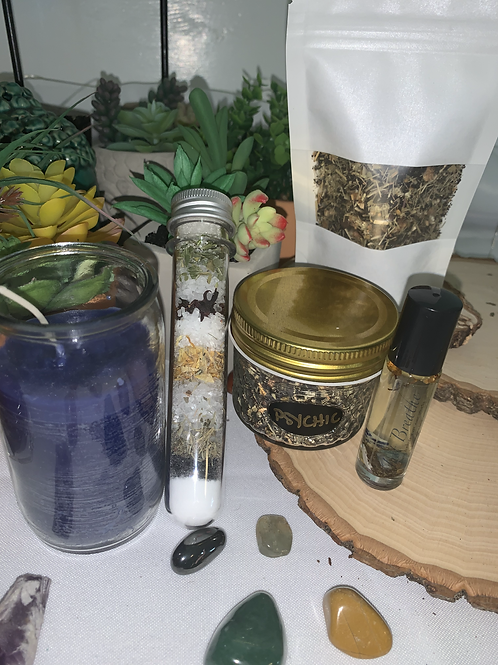 Ritual/Spell/Energy Kits (Love, Protection, Money, Psychic, + Energy Cleanse)