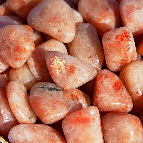 Sunstone Polished Tumbled Stone