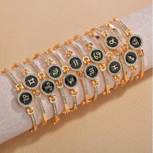 Gold Zodiac Bracelet (Custom)