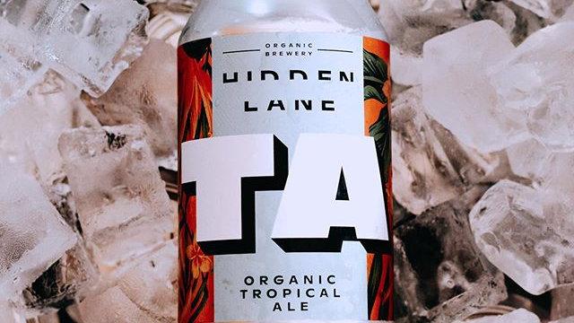 Hidden Lane, Ta-Organic Tropical Ale (12)