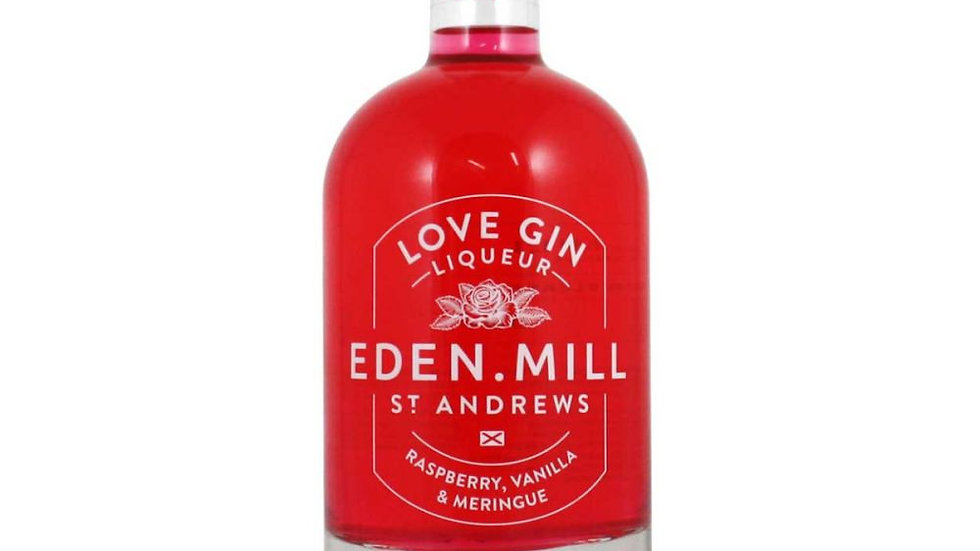 Eden Mill Raspberry, Vanilla & Meringue Love Gin Liqueur, 50cl
