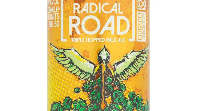 Stewart Brewing, Radical Road Triple, Hopped Pale Ale (12)