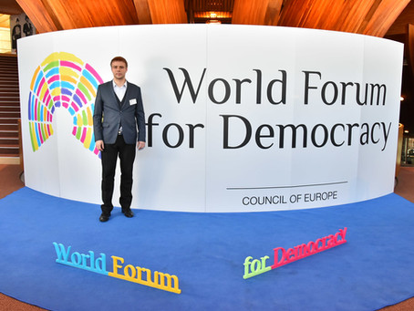 Посещение Совета Европы (The Council of Europe)