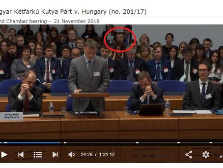 Заседание в Европейском суде по правам человека