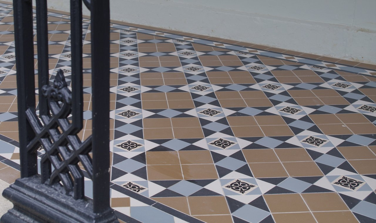 tessellated tiles