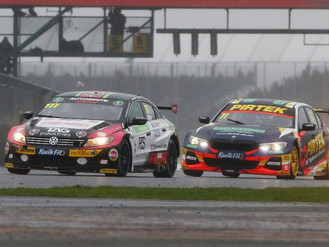 Michael Crees Splashes His Way To Stunning Maiden BTCC Top Ten Finish