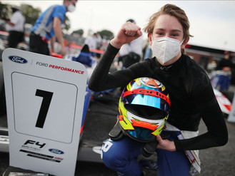 Christian Mansell Scores Maiden British F4 Victory At Brands Hatch