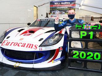 Will Burns Wins 2020 Ginetta GT4 SuperCup Title