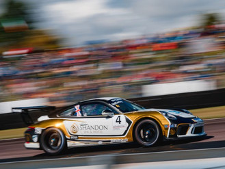 Jack McCarthy Fights Back To Porsche Carrera Cup GB Podium Finish At Thruxton