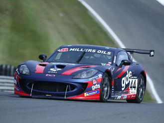 Fin Green Digs Deep For Double Ginetta GT4 SuperCup Points Finishes