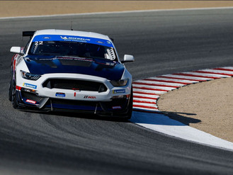 Sebastian Priaulx Pushes To The Finish On Laguna Seca Debut