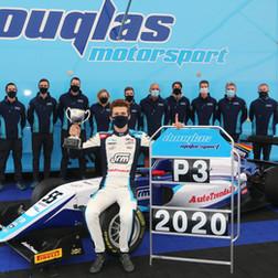 Douglas Motorsport Take Third In Championship After Challenging Silverstone British F3 Finale