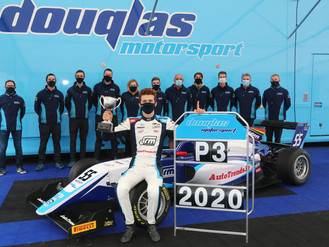 Douglas Motorsport Take Third In Championship After Challenging Silverstone British F3 Finale