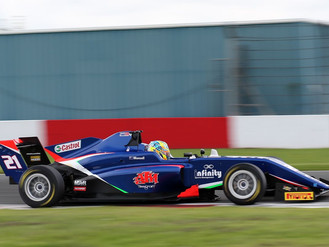 Christian Mansell Impresses With Donington Park Top Six Treble