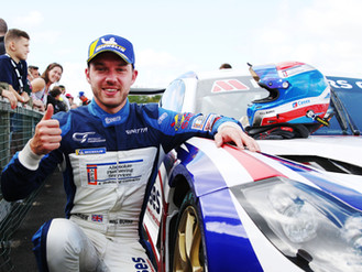 Will Burns Takes GT4 SuperCup Points Lead With Superb Thruxton Double Win