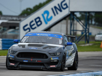 Sebastian Priaulx Puts In Competitive Showing At Weather-Affected Sebring