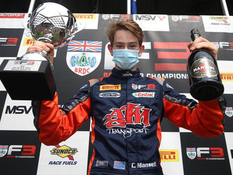 Christian Mansell Braves Spa Conditions For Superb Second BRDC British F3 Success