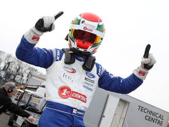 Priaulx Stuns On Formula 4 Debut With Superb Brands Hatch Victory