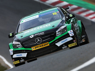 Oliphant Shows Top Ten Potential During Impressive BTCC Debut