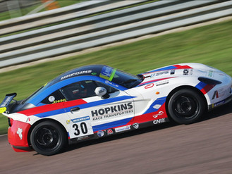 Will Jenkins Bags A Positive Double Ginetta Points Finish At Thruxton