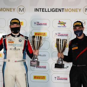 Gordon-Colebrooke Scores Superb First British GT Win In Silverstone Finale