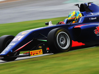 Christian Mansell Narrowly Misses Out On Podium Finish At Silverstone