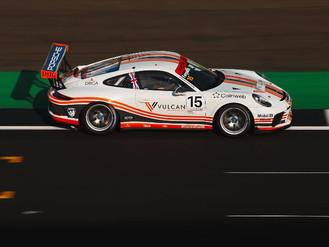Redline Racing Enjoy Porsche Carrera Cup GB Podium Joy At Silverstone