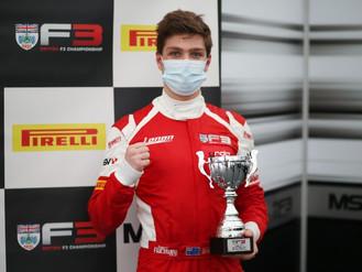 Bart Horsten Claims Second British F3 Podium At Brands Hatch GP Circuit